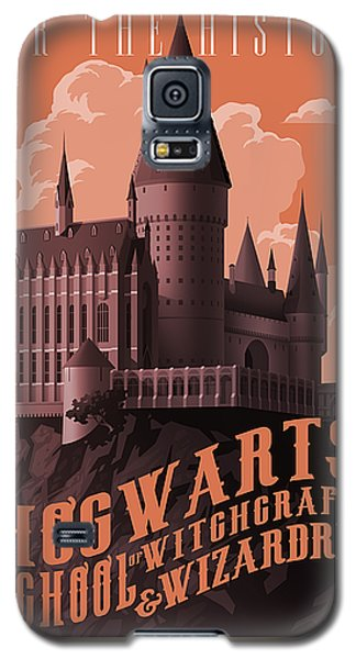Wizard Galaxy S5 Case - Tour Hogwarts Castle by Christopher Ables