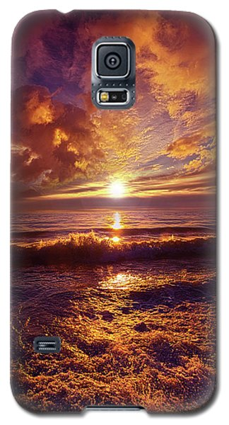 Galaxy S5 Case featuring the photograph Toward The Far Reaches by Phil Koch