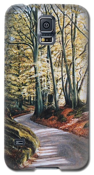 Galaxy S5 Case featuring the painting Towards The Future by Rosemary Colyer
