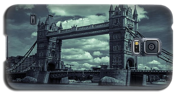 Tower Bridge Bw Galaxy S5 Case