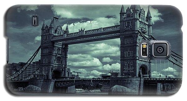 Tower Bridge Bw Galaxy S5 Case