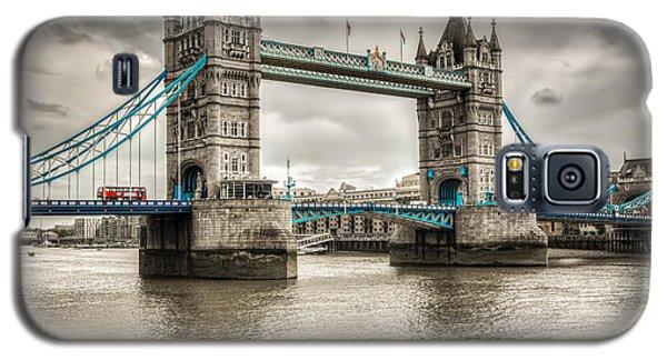 Tower Bridge In London In Selective Color Galaxy S5 Case
