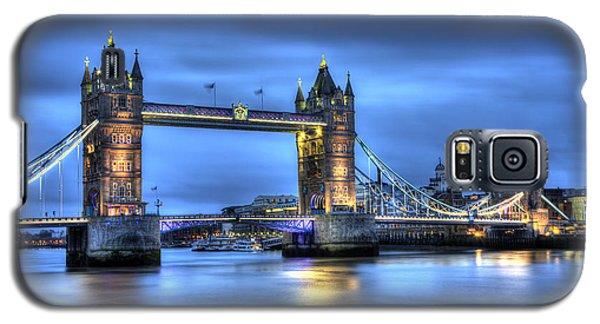 Tower Bridge London Blue Hour Galaxy S5 Case by Shawn Everhart