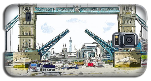 Tower Bridge London England Galaxy S5 Case