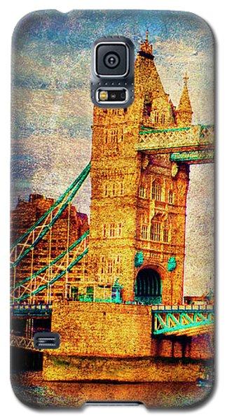 Tower Bridge London Galaxy S5 Case by Judi Saunders