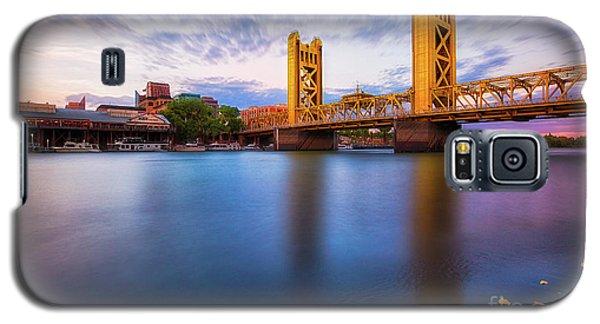 Tower Bridge Sacramento 3 Galaxy S5 Case