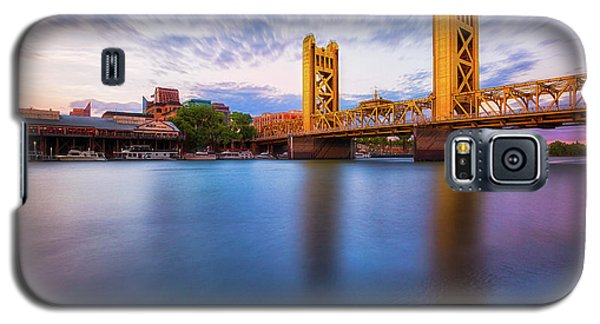 Tower Bridge Sacramento 3 Galaxy S5 Case