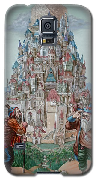 Tower Of Babel Galaxy S5 Case