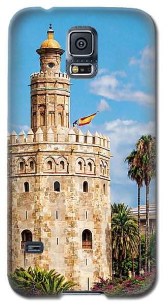 Tower Of Gold Galaxy S5 Case