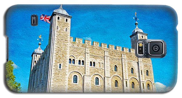 Tower Of London Galaxy S5 Case - Tower Of London by Laura D Young