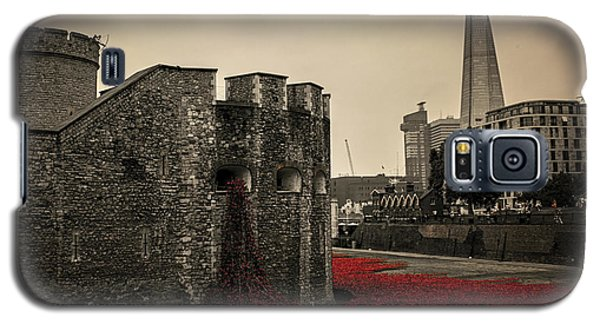 Tower Of London Galaxy S5 Case by Martin Newman