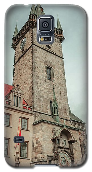 Galaxy S5 Case featuring the photograph Tower Of Old Town Hall In Prague by Jenny Rainbow