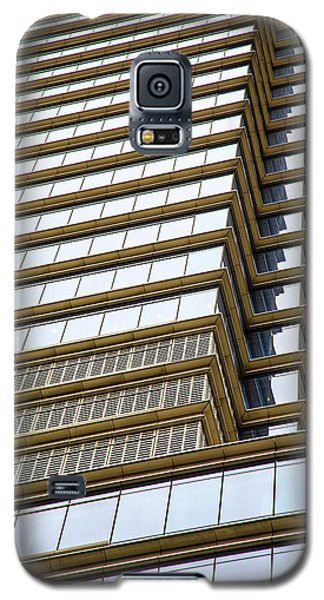 Galaxy S5 Case featuring the photograph Towering Windows by Karol Livote
