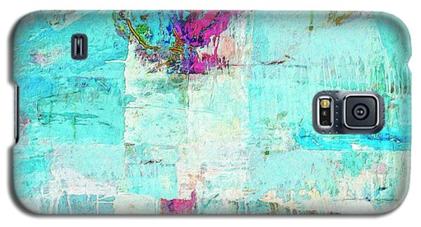 Galaxy S5 Case featuring the painting Towers by Dominic Piperata