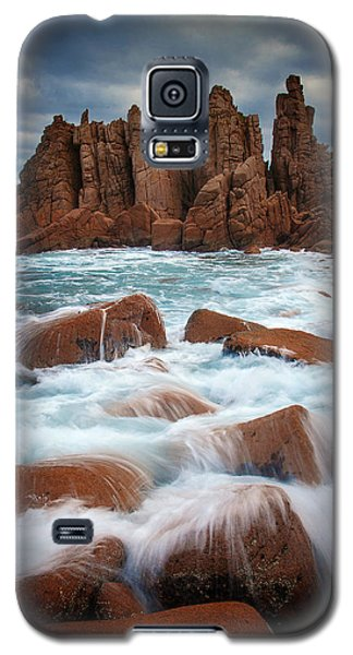 Towers In The Sea Galaxy S5 Case by Tim Nichols