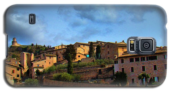 Town Of Assisi, Italy II Galaxy S5 Case by Al Bourassa