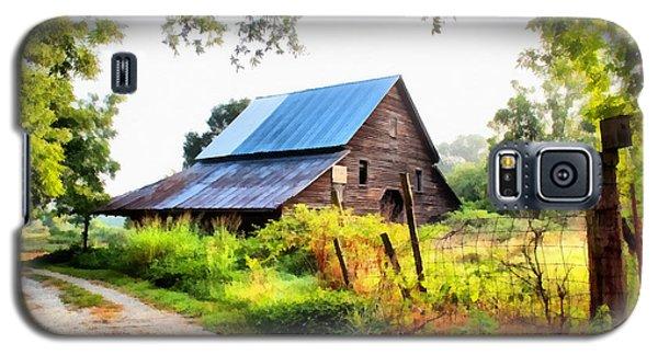 Townville Barn Galaxy S5 Case by Lynne Jenkins
