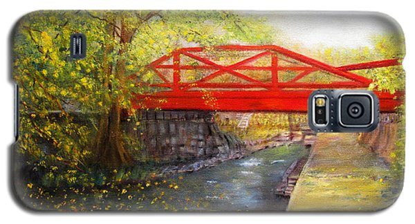 Towpath In New Hope Galaxy S5 Case