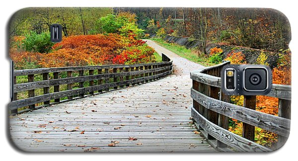 Towpath In Summit County Ohio Galaxy S5 Case