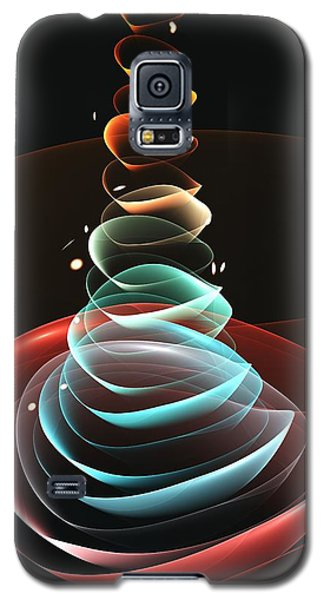 Galaxy S5 Case featuring the digital art Toy Pyramid by Anastasiya Malakhova