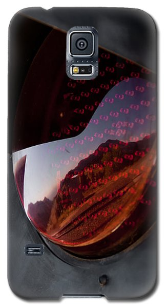 Track Reflections Galaxy S5 Case by Colleen Coccia