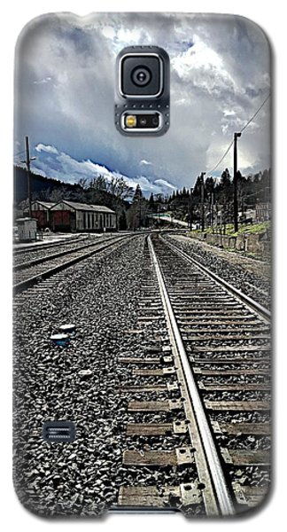 Galaxy S5 Case featuring the photograph Tracks by JoAnn Lense