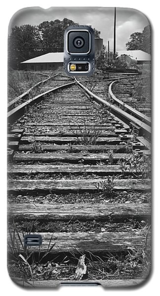 Galaxy S5 Case featuring the photograph Tracks by Mike McGlothlen