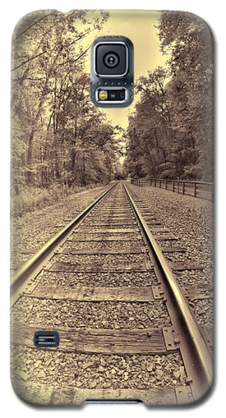 Tracks Through The Park Galaxy S5 Case by Dennis Lundell