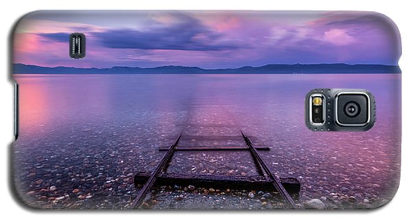Galaxy S5 Case featuring the photograph Tracks To Tahoe by Brad Scott