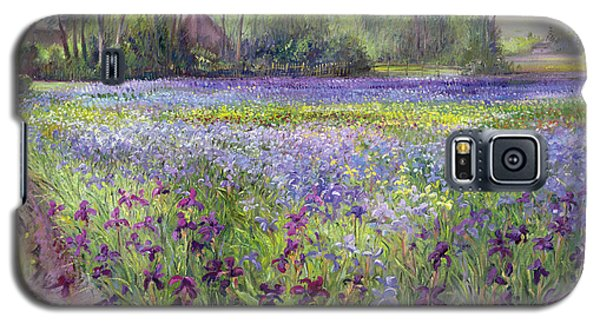 Trackway Past The Iris Field Galaxy S5 Case
