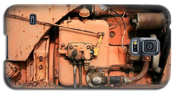 Tractor Engine V Galaxy S5 Case by Stephen Mitchell