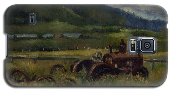 Tractor From Swan Valley Galaxy S5 Case