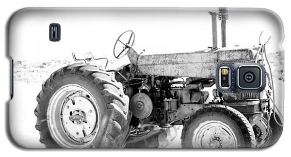 Galaxy S5 Case featuring the photograph Tractor by Silvia Bruno