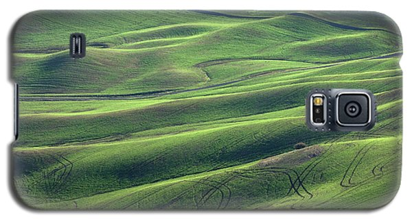 Tractor Tracks Agriculture Art By Kaylyn Franks Galaxy S5 Case