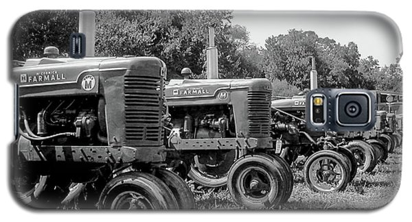 Galaxy S5 Case featuring the photograph Tractors by Brian Jones
