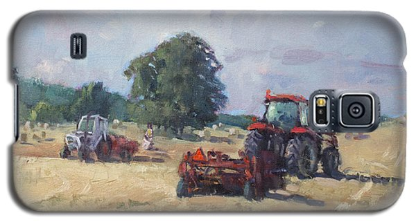 Georgetown Galaxy S5 Case - Tractors In The Farm Georgetown by Ylli Haruni