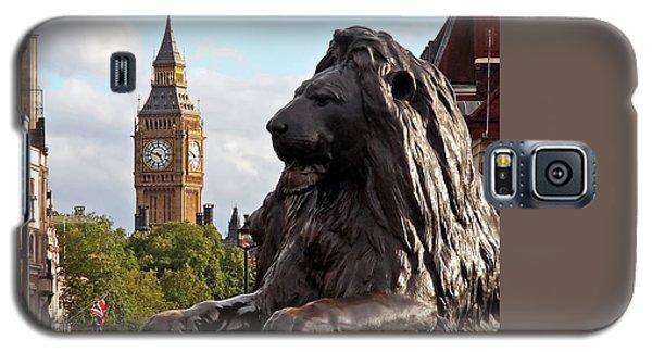 Trafalgar Square Lion With Big Ben Galaxy S5 Case