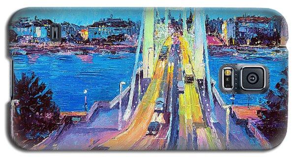 Traffic On Elisabeth Bridge At Dusk Galaxy S5 Case