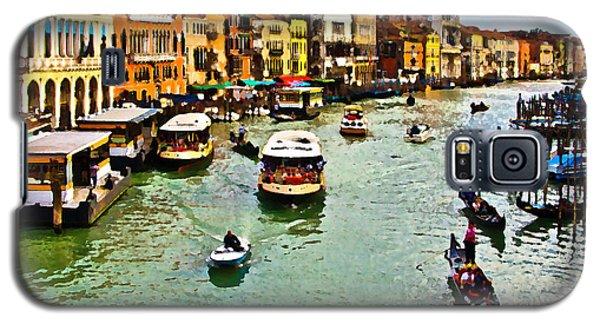 Traghetto, Vaporetto, Gondola  Galaxy S5 Case by Tom Cameron