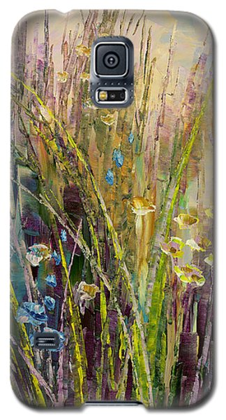 Galaxy S5 Case featuring the painting Trail Of Beauty by Tatiana Iliina