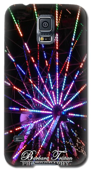 Trail Of Lights #7427 Galaxy S5 Case