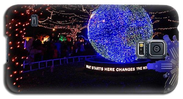 Trail Of Lights World #7359 Galaxy S5 Case