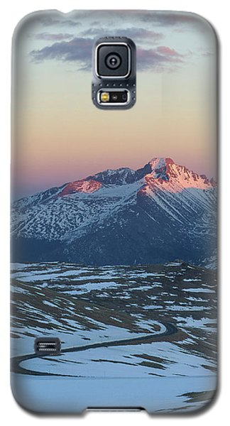 Galaxy S5 Case featuring the photograph Trail Ridge Road Vertical by Aaron Spong