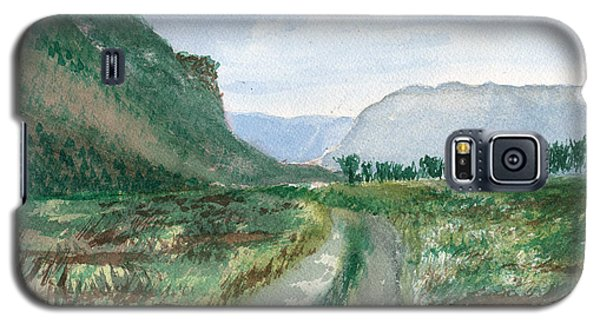 Trail To Canada Galaxy S5 Case