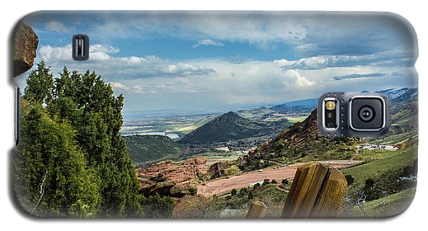 Trails At Red Rocks Galaxy S5 Case