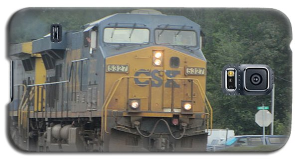 Train At Folkston 2 Galaxy S5 Case