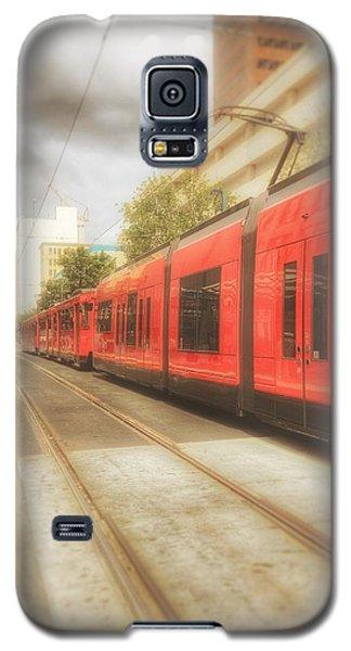 Train Daze  Galaxy S5 Case by Regina Avila
