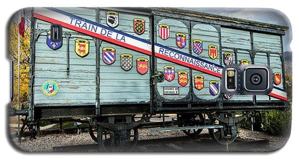 Train De La Reconnaissance Francaise - Ogden - Utah Galaxy S5 Case by Gary Whitton