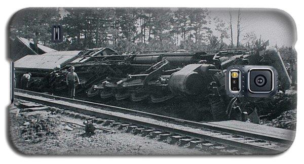 Train Derailment Galaxy S5 Case