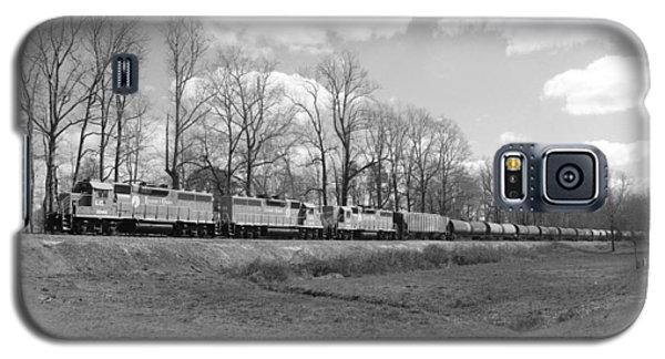 Train In Black And White 20 Galaxy S5 Case